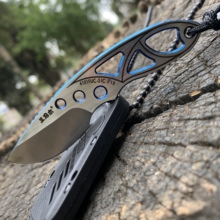 Sanrenmu 4101 pocket knife 12C27 steel outdoors portable mini Pocket camping EDC Rescue Survival Tool stiletto utility knife