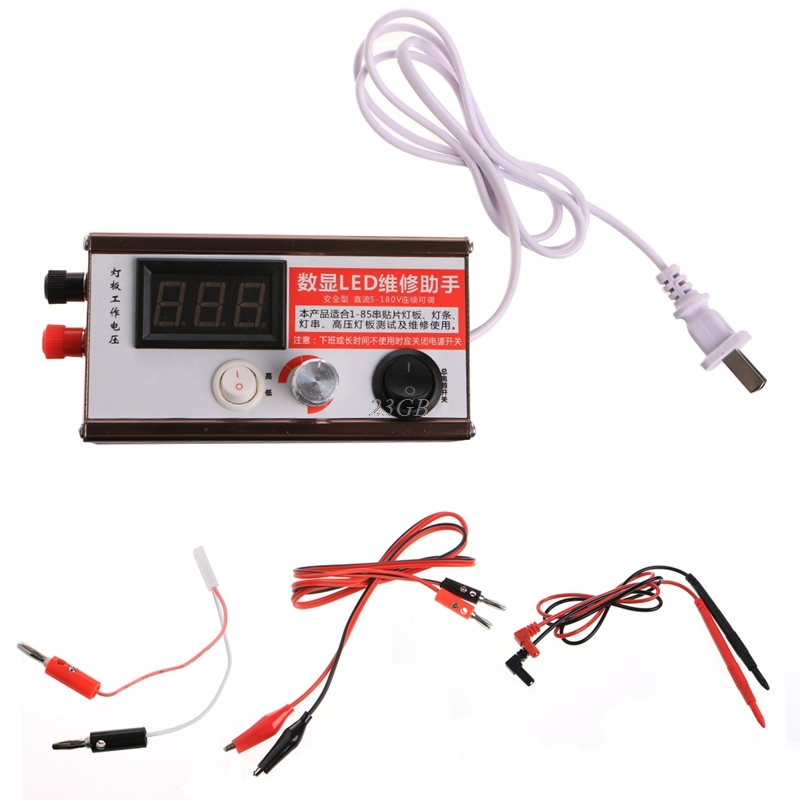 2017 Screen LED LCD TV Backlight Tester Meter Tool Lamp Beads Light Board Test MAY09_25 led tv testers split screen lcd backlight tester tool led lamp beads light boards test my24 30
