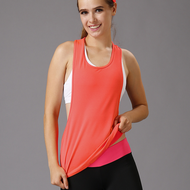 832410535225d Women Gym Workout Clothing Sports T Shirt Yoga Vest Fitness Training  Exercise Running Sportswear Tee Tank Tops Singlets Clothes on  Aliexpress.com