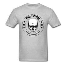 Custom Summer Tops Skull T Shirt For Men 2018 New NEW YEAR DAY Crewneck Cotton Fabric Short Sleeve Top T-shirts Printed TShirt цена и фото