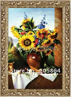 FREE SHIPPING Different Sizes Still Life Gobelin Pictures For Furniture Decoration Picture Frame
