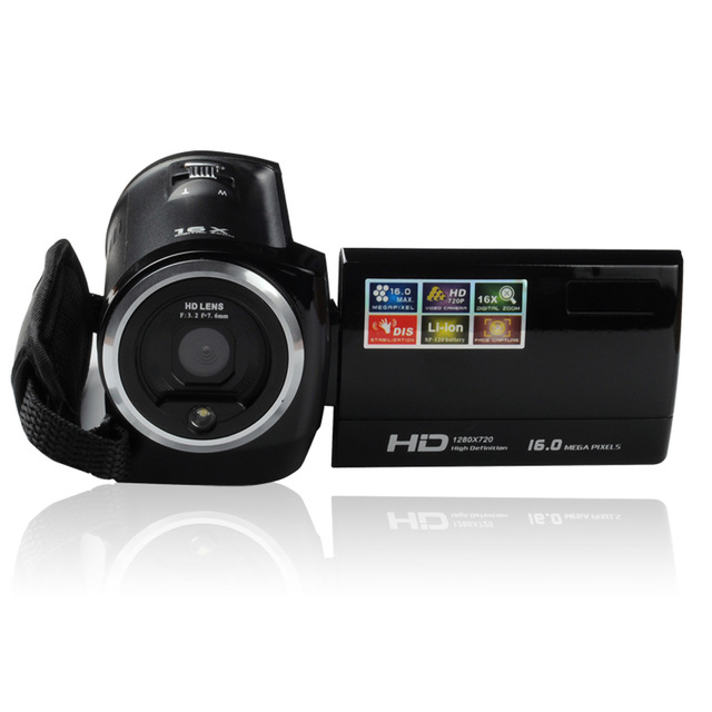 Mini Portable 720P Digital Camera 2 7 LCD Screen 16MP 16X Digital Zoom Anti shake Video