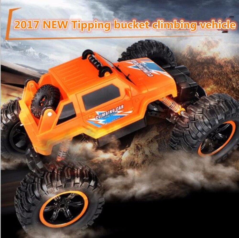 Супер большой RC автомобиль 2836 2,4G 30 см 4WD bigfoot подтягивающее ведро 45 градусов восхождение по бездорожью пульт дистанционного управления RC трю