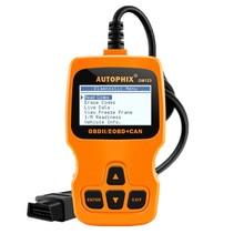 Autophix OM123 OBD2 Code Reader Automotive Scanner Auto Repair Engine Check Diagnostic Tool OBD 2 Scanner Better ELM327 Russian
