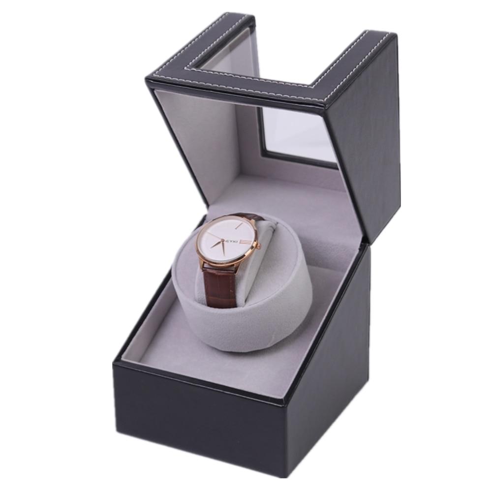 High Class Motor Shaker Watch Winder Automatic Mechanical Watch Winding Box Jewelry Watches Display Box