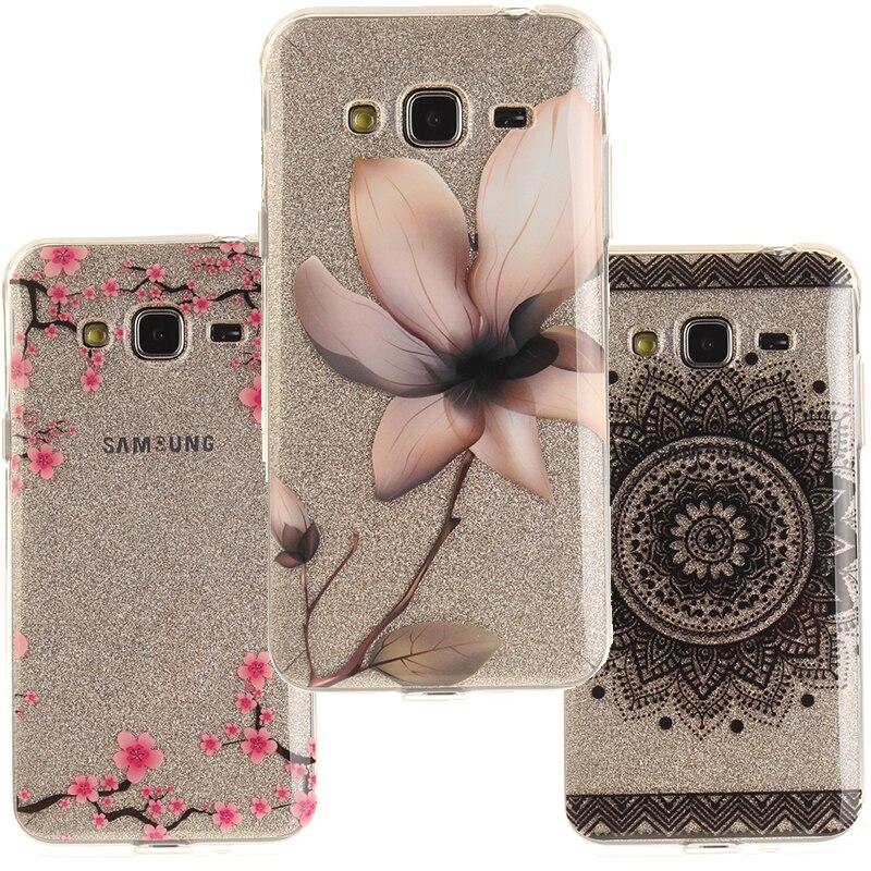 Galleria fotografica For Coque Galaxy J3 2016 J320 Case Silicone TPU Cover Case For Fundas Samsung Galaxy J3 2016 J320 J3 6 SM-J320F Carcasa Etui