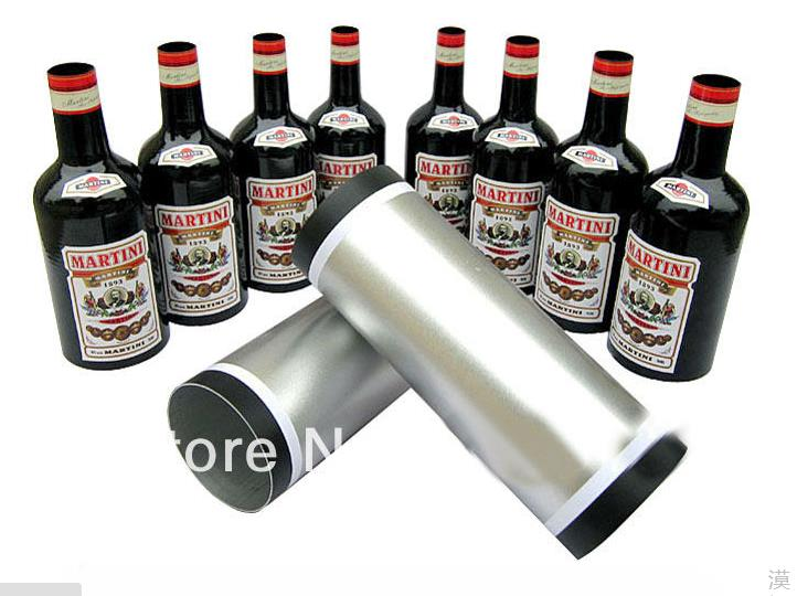 Free shipping Multiplying Bottles 8 Bottles Black Stage magic props,illusions,super effect,Interactive magic poker box magic props black