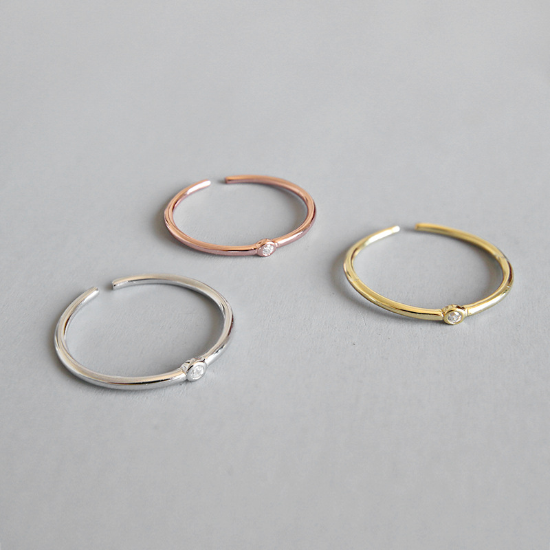 1.3MM Thin 100% real. 925 SILVER Fine jewelry sterling Midi Toe Knuckle finger's Ring Women's 3-colors choice J16