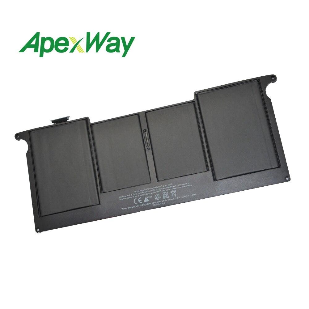 7.3 V 35Wh pour Apple batterie d'ordinateur portable A1375 pour MacBook Air 11