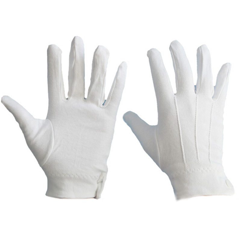 24Pairs White Formal Gloves Tactical Gloves Tuxedo Honor Guard ...