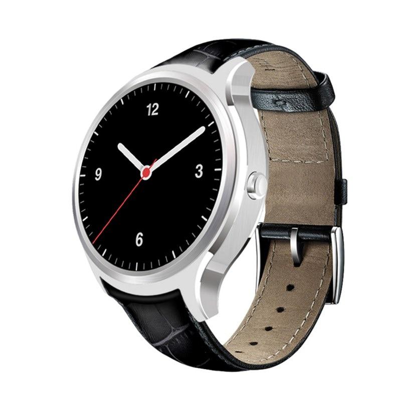 Finow x1 k8 mini smart watch android 4.4 reloj del ritmo cardíaco Smartwatch Blu