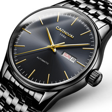 Switzerland luxury men's watch Carnival Brand Watches Men Automatic Mechanical reloj hombre Luminous Clock Sapphire C-8612G-3