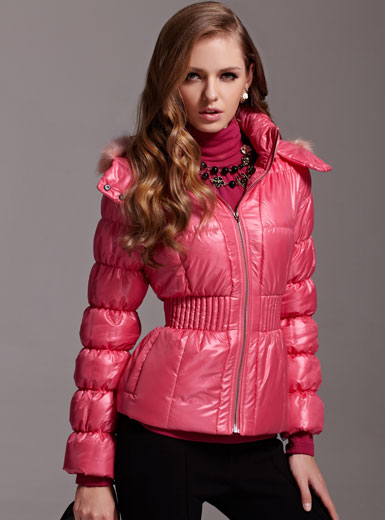 New 2013 Winter Cute Fur Hood Slim Fashion Thickening Parka Women Cotton Padded Coat Wadded Jacket Plus Size Branded Coats D1054