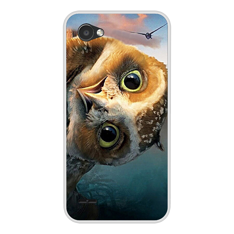 Image 4 - For Capa LG Q6 Case Cover Silicon Phone For Funda LG Q6A Q6 alpha M700 Q6 Plus Back Cover Case Soft TPU For LG Q6 3D Cute Flower-in Half-wrapped Cases from Cellphones & Telecommunications
