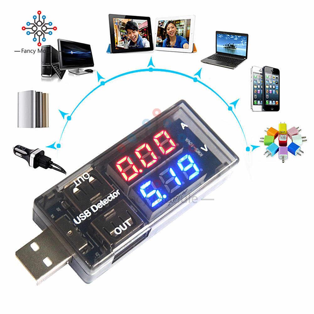 Diymore USB voltmètre numérique ampèremètre courant tension mètre batterie capacité d'énergie temps multifonction USB détecteur de puissance testeur