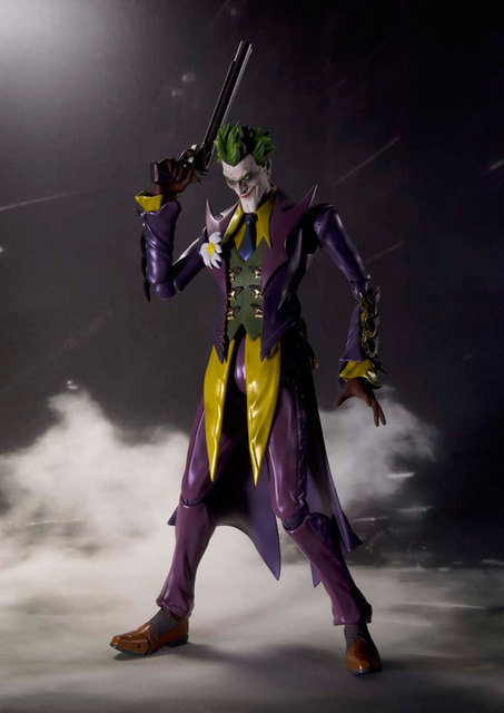 Justic League Batman & Joker Variable Joker SHF Doll PVC Action Figure Collectible  Model Toy 8cm KT2645