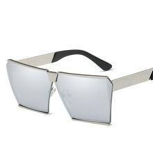2017 de La Moda de Gran Tamaño Suqare Mujeres Grandes gafas de Marco Gafas Para Hombre Gafas de Sol Clásicas Gafas UV400 Gafas de sol gafas