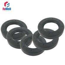 5pcs TC Type NBR Black Skeleton Oil Seal Ring Gasket 50x72x8mm /50x80x12/50x82x12/50x85x12/50x90x10mm Radial Oil Shaft Seal