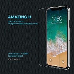 Image 5 - Защита экрана для iphone xr 6,1 дюймов NILLKIN Amazing H/H + PRO 9H 2.5D Закаленное стекло Защита для iPhone xr стекло