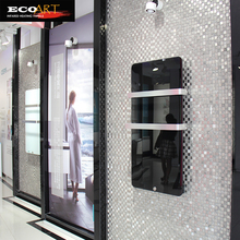 Eco Art 600W Bathroom Vertical Flat Panel Radiators with Wireless Thermostat