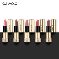 O.TWO.O 12pcs/kit New Lipstick Matte Long Lasting Kissproof Waterproof Matte Lip gross Make Up Lip 12colors Lips Makeup