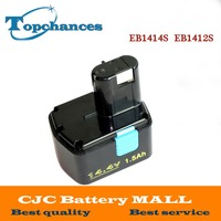 Newest 14 4V 1500mAh Rechargeable Battery For Hitachi EB1414S EB 1412S EB 1414 EB 1414L EB