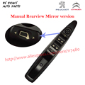 Manual Rearview Mirror folding master drive controller for Citroen C4 left front door glass electric window lifter switch