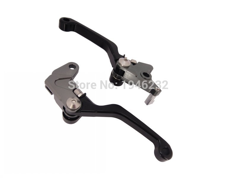 For Honda CRF250R/CRF450R 2004-2006 Dirt Bike FLEX Pivot Lever CNC Motorcycle Adjustable  Brake Clutch Levers cnc pivot brake clutch levers for honda crf250r crf450r 07 15 crf motocross enduro supermoto dirt bike racing offroad motorcycle