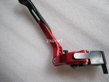 Продлить складная рычаг тормоза fit Suzuki Gsf1200 1250 бандит Gsx 1400 Gsx 650f Dl1000 мотоцикл T6 алюминиевый рычаги
