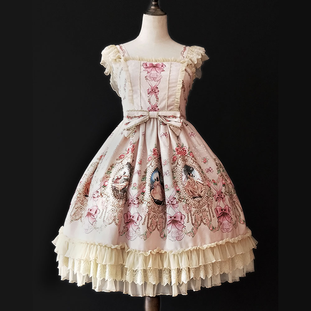 Fairy Tale Town Party Sweet Printed Lolita JSK Dress by Infanta Pre order