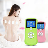 8 mode LED digital meridian body massage Meridian massage cervical physiotherapy instrument small acupuncture instrument