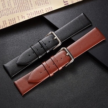 New type of plain edge-wrapped on-shelf needle-print leather strap for independent packaging of watch strap accessories