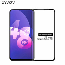 Full Glue Cover Glass For OPPO F11 Pro Scratch Proof Screen Protector Tempered Glass For OPPO F11 Pro Glass Film For F11 Pro швабра topoto f11