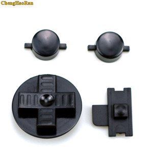 Image 2 - ChengHaoRan 1set Black RED Customs DIY Buttons Set Replacement for Gameboy Classic for GB DMG A B buttons D pad Button