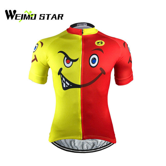 c197cf093 Weimostar Cycling Jersey Men pro team mtb bike jersey shirts summer bicycle  cycling clothing Smile jersey ropa ciclismo