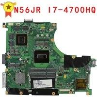 N56JR N56J G56J G56JR 4GB Motherboard for Asus i7 4700HQ N56JR REV2.0 Mainboard GeForce GTX760M GTX 760M Fit