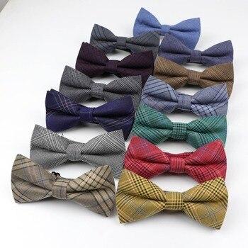 2019 neue Stil Mens Fashion Künstliche Stoff Von Business Anzug Striped Dünne Schmetterling Männer Weichen Bogen Krawatten Designer Krawatte