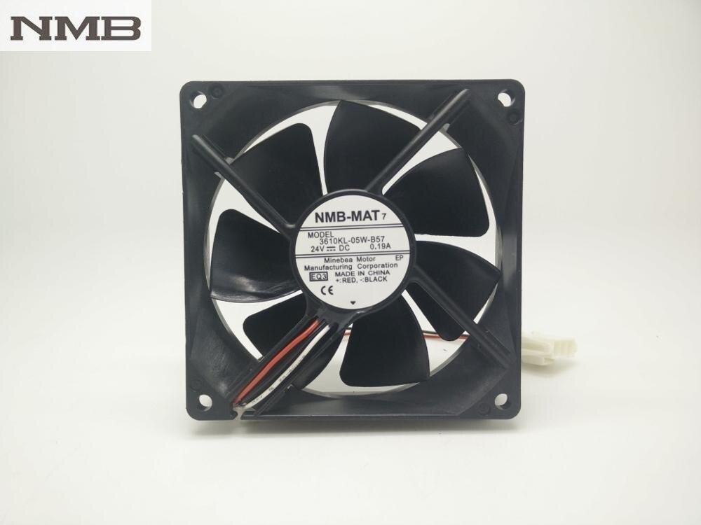 Original NMB 3610KL-05W-B57 9225 wasserdichte wechselrichter fan 9025 24 V 0.19A