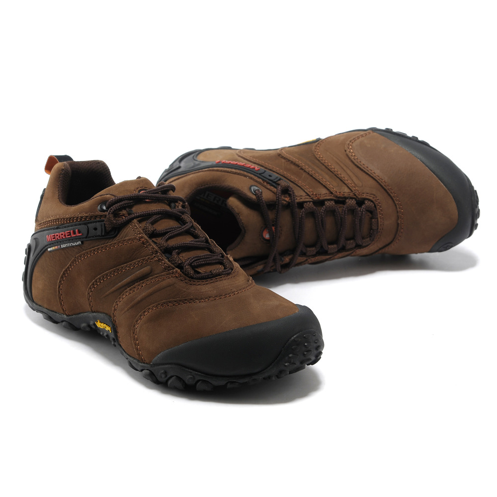 7d81752d73 US $76.0 |Merrell Original Professional Outdoor Men Nubuck Genuine Leather  Hiking Shoes for Cross country Mountaineer Climbing Sneakers-in Hiking ...