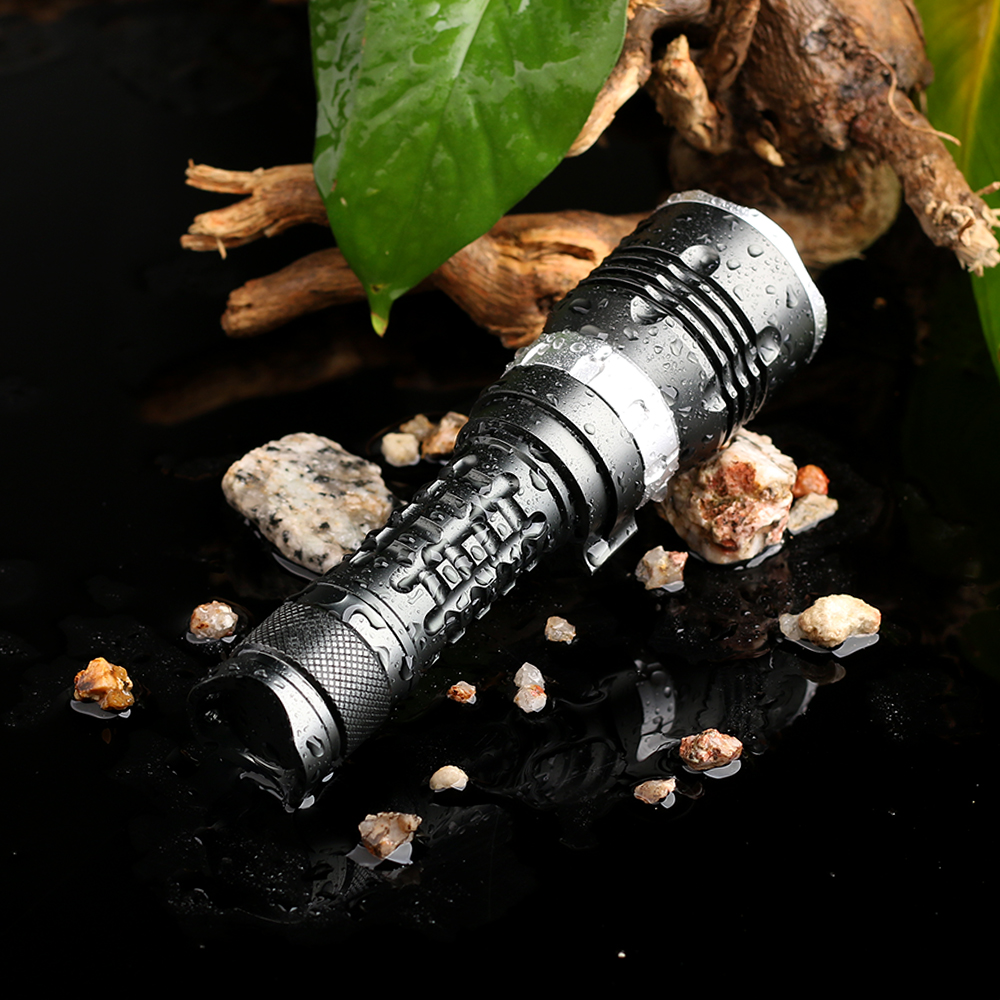 Image 3 - MS1 Scuba Diving Flashlight 18650 Light Dive Torch Powerful Cree LED XM L2 Underwater Flashlight Waterproof Diving Lamp lanternapower cree ledlight power1000 lumen -