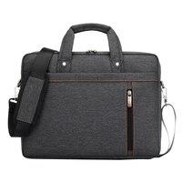 17 Inch Big Size For Nylon Computer Laptop Solid Notebook Tablet Bag Bags Case Messenger Shoulder