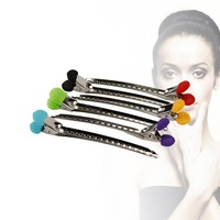 20PCS Hair Clips Stainless Steel Hairdressing Sectioning Clips Clamp Salon Hairpins Hair Accessories DIY Hair Care Styling Tool