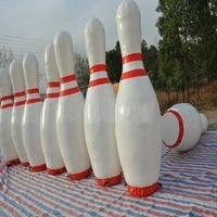 Надувные Боулинг бутылка для использования zorb (людской шарик), 2 м (около 6,5 футов) высота 6 шт. набор