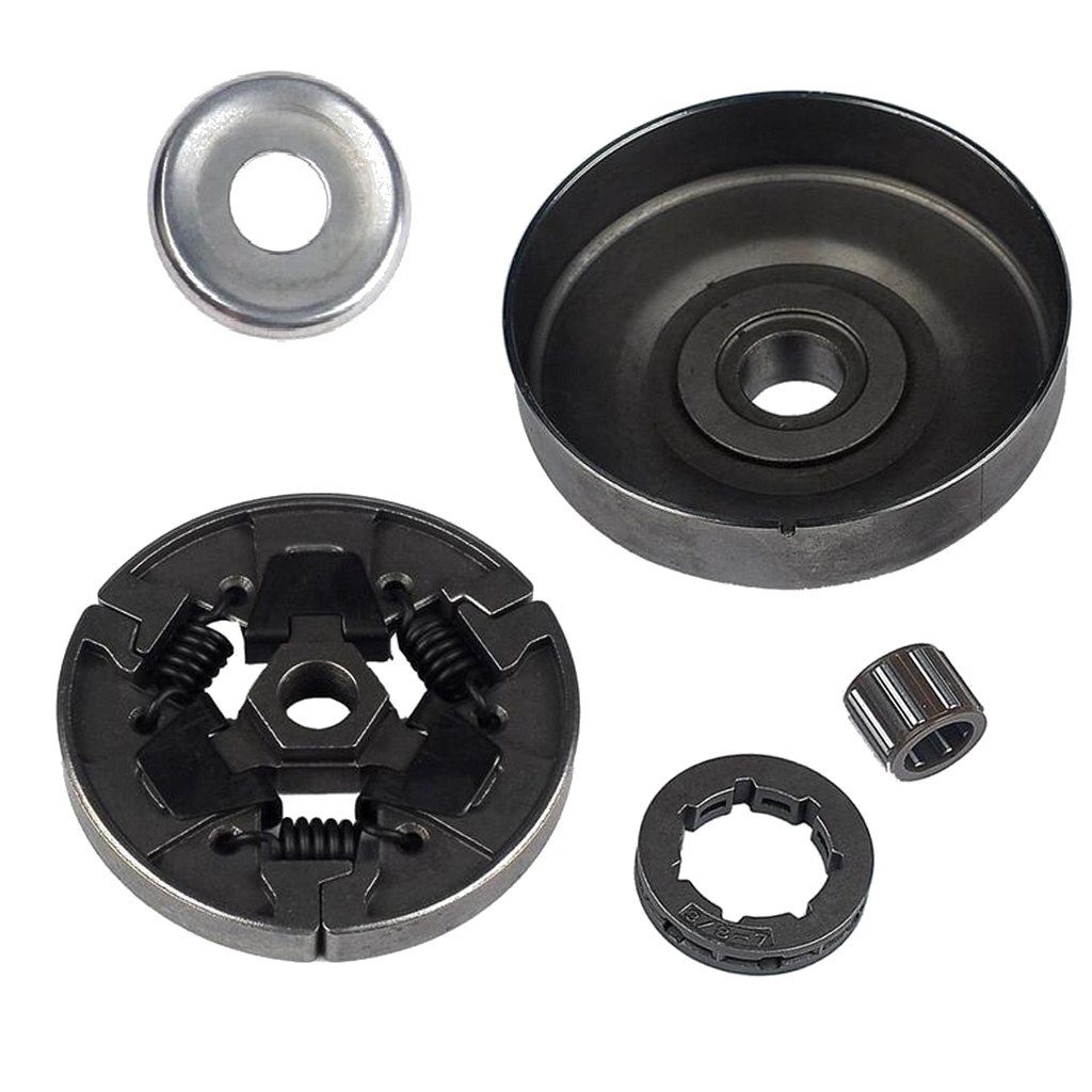 Clutch Drum Sprocket Washer Bearing Kit For STIHL MS250 MS230 MS210 MS180 chainsaw clutch drum chain sprocket 3 8 picco 6t with needle bearing fit stihl ms210 230 ms250 oem 1123 640 2073 1123 160 2050
