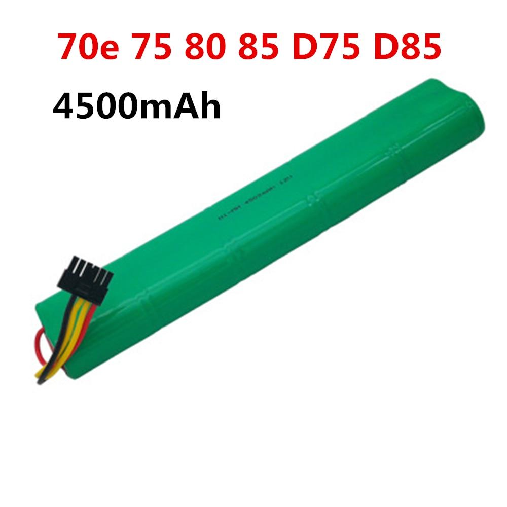 Bateria 4500 mAh 12 V Ni-MH Bateria para Neato Aspirador BotVac 70e 75 80 85 D75 D85 Aspiradores
