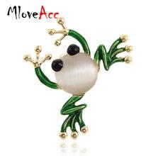 Mloveacc зеленая эмалированная мультяшная яркость для женщин