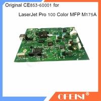 Original 95% new CE853 60001 Formatter Board logic Main Board MainBoard mother board For HP LaserJet Pro 100 Color MFP M175A|Printer Parts| |  -