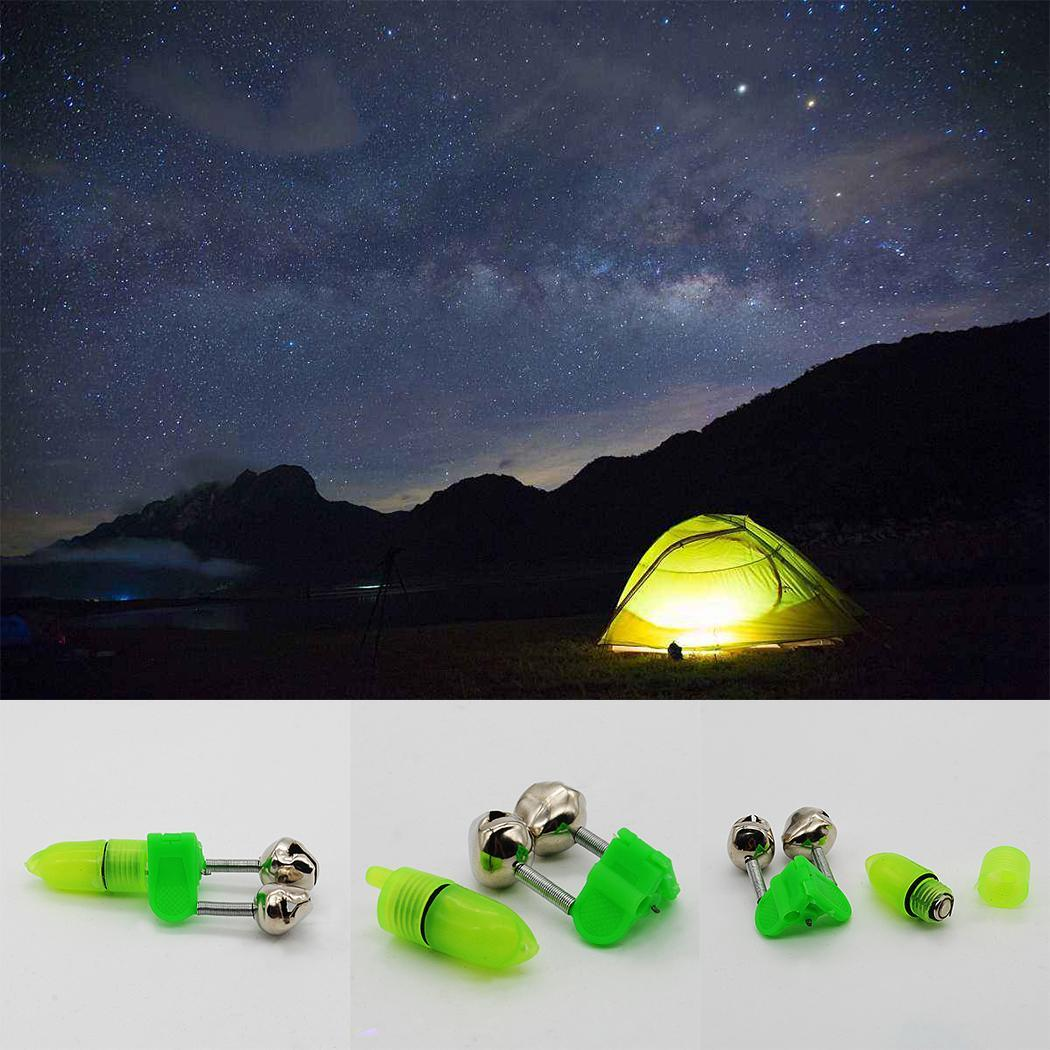 New 1 PCS  Outdoor Fishing Alarm Night Flashing LED Signal Light High Quality Running LED Electronic Fish Bite Alarm New