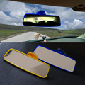 Tiptop New Universal 200mm Wide Curve Interior Clip On Panoramic Rear View Mirror OCT28