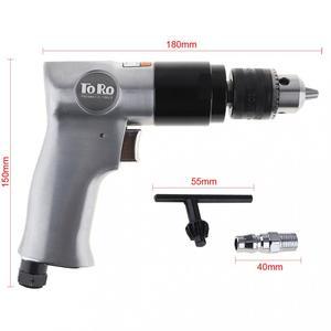 """Image 4 - TORO 3/8 """"1800rpm High speed Cordless Pistole Typ Pneumatische Pistole Bohrer Reversible Air Drill Werkzeuge für Loch bohren"""